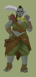 half-orc druid